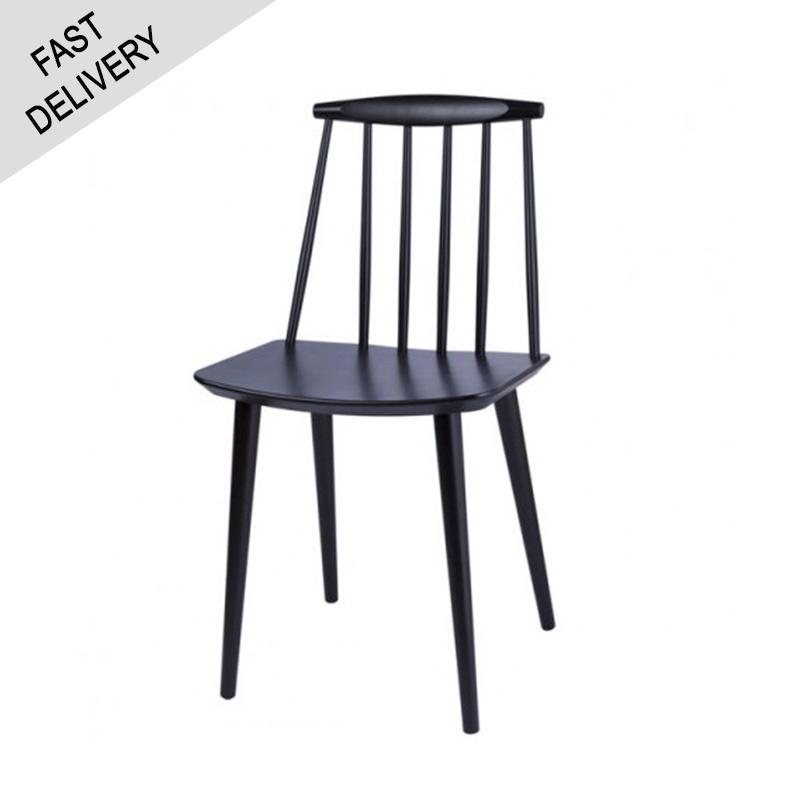 HAY J77 chair FAST TRACK (zwart)