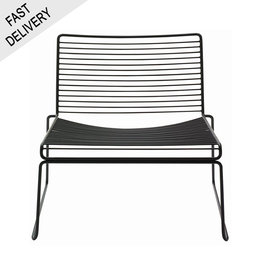 HAY Hee lounge chair FAST TRACK (black)