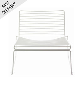 HAY Hee lounge chair FAST TRACK (wit)