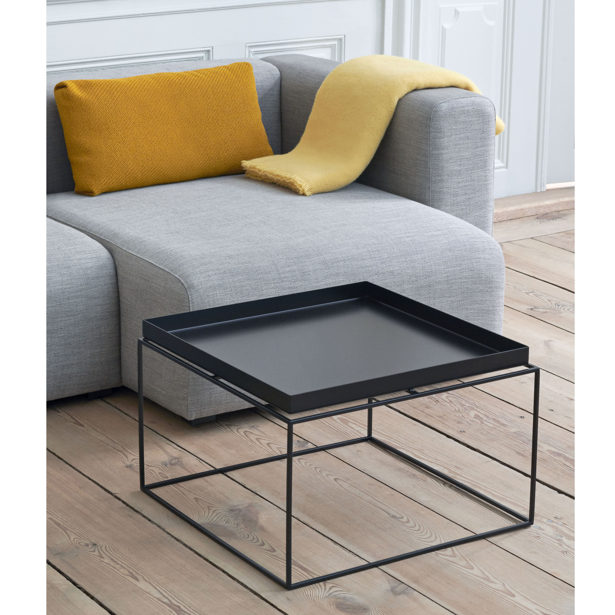 HAY Tray table d'appoint noir FAST TRACK
