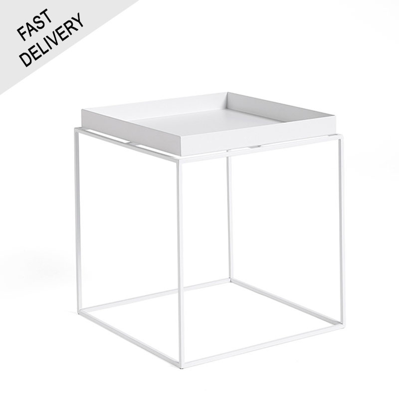 HAY Tray table d'appoint blanc FAST TRACK