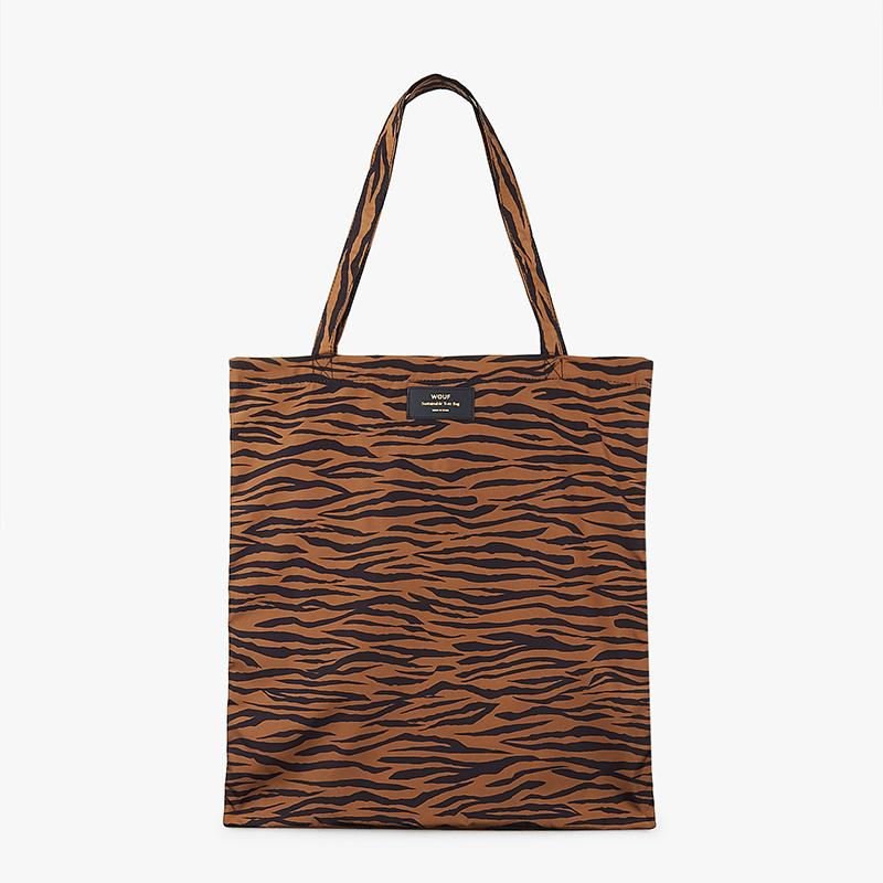 Wouf Tiger opvouwbare shopper