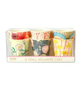 Rice Drinkbeker Happy print Small - set van 6