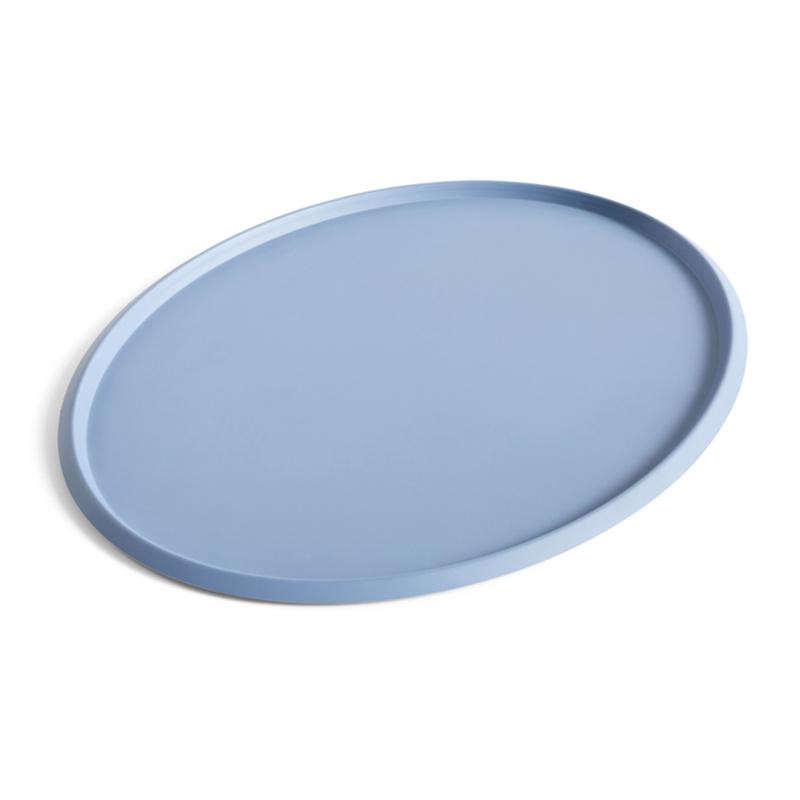 HAY Ellipse plateau XL gris clair