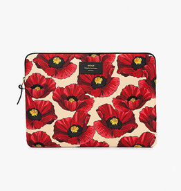 Wouf Wouf 15'' Laptophoes Poppy - Wouf