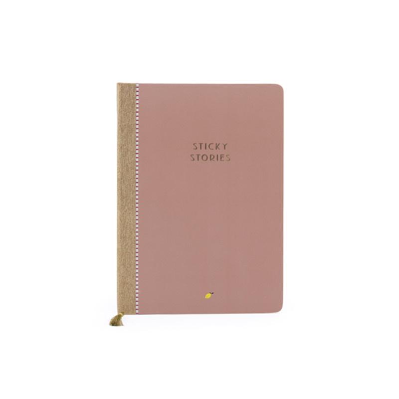 Sticky lemon sticky stories Notebook - chocolat au lait