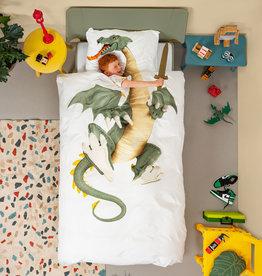 SNURK beddengoed Dragon dekbedovertrek 1p
