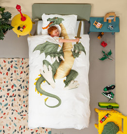 SNURK beddengoed Housse de couette Dragon 1p