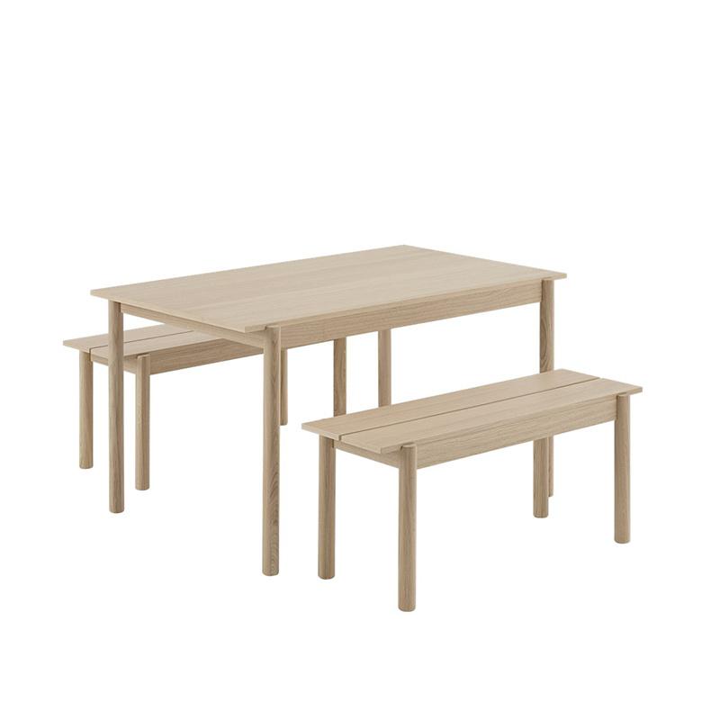Muuto Linear tafel eik