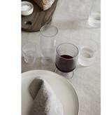Fermliving Fermliving-Ripple wine glasses clear (set van  2)