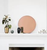 House Doctor Miroir mural en or rose