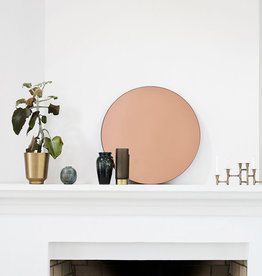 House Doctor Miroir mural en or rose