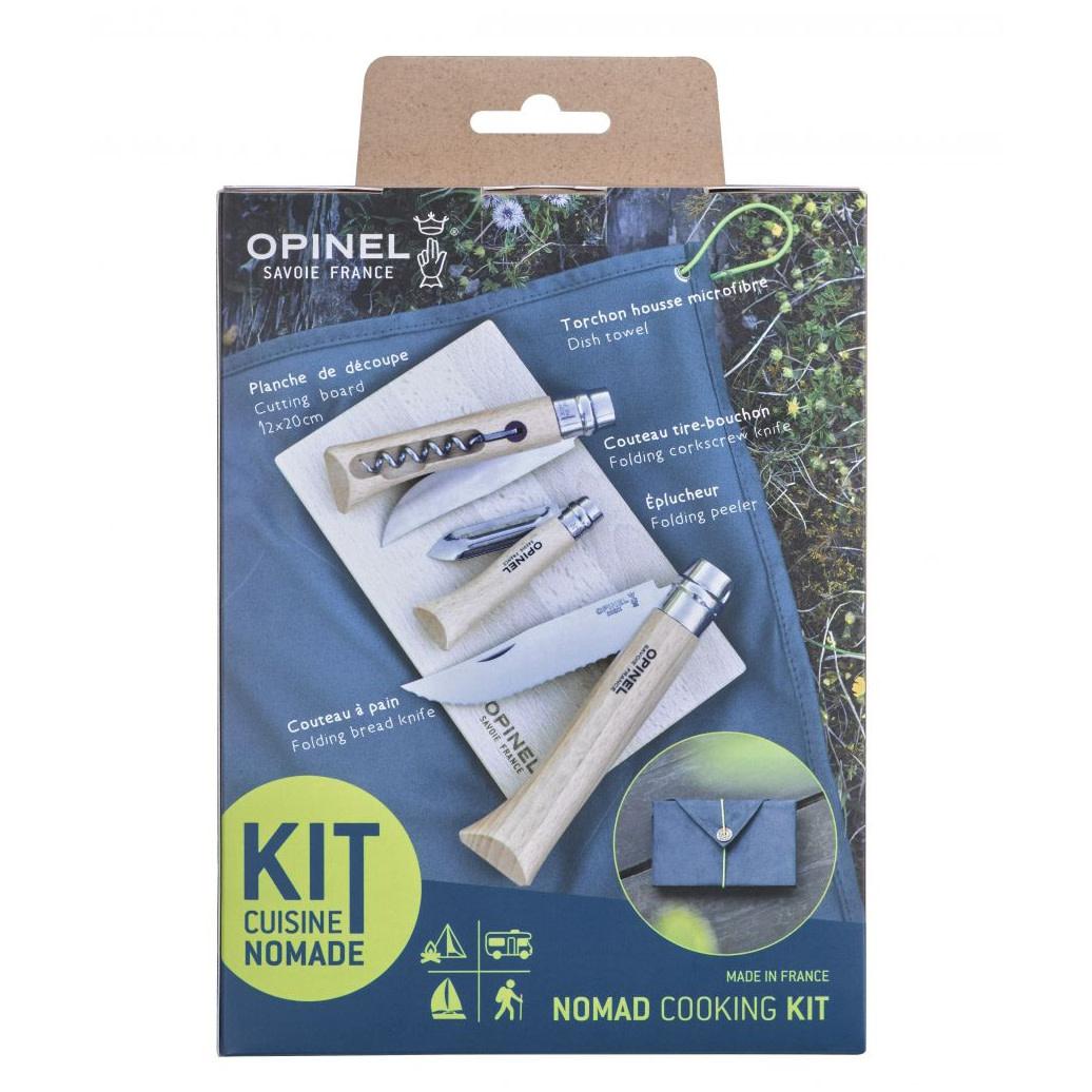 Opinel 5-delige outdoor cooking set