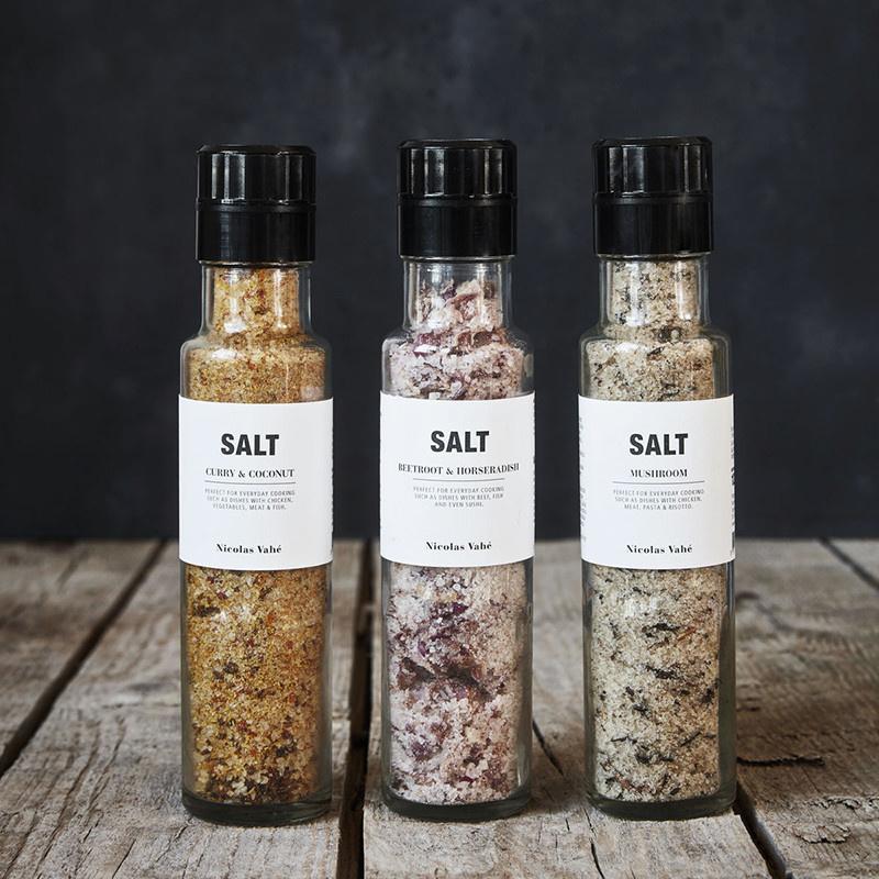 Nicolas Vahé Salt Curry & Coconut - 300g