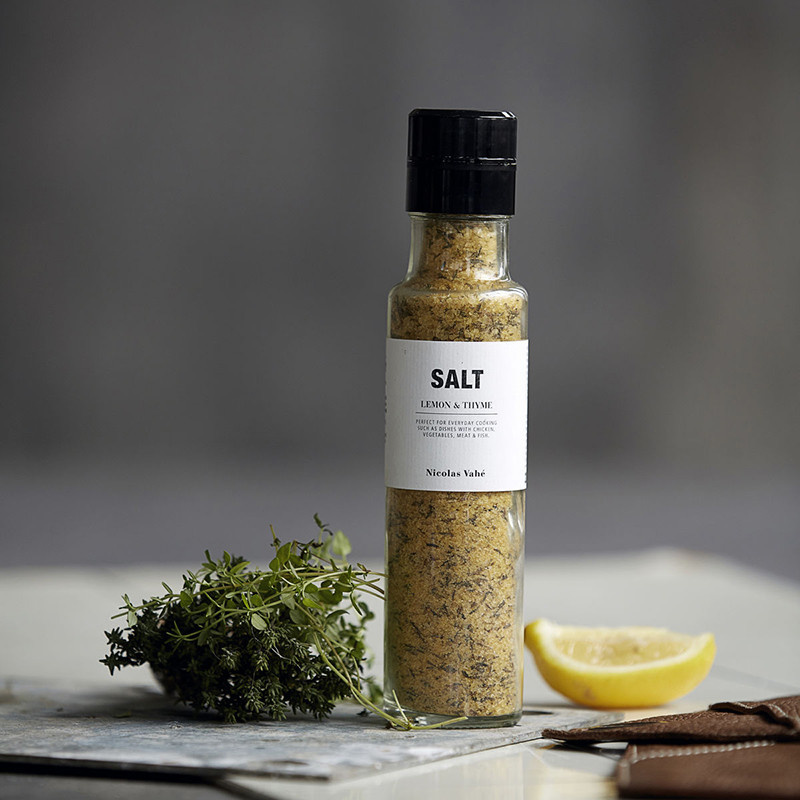 Nicolas Vahé Salt Lemon & Thyme - 320g