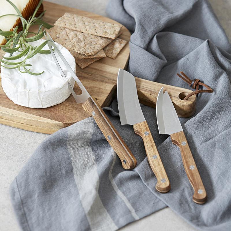 Nicolas Vahé couteaux à fromage (lot de 3)