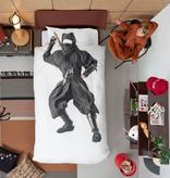 SNURK beddengoed Ninja dekbedovertrek 1p
