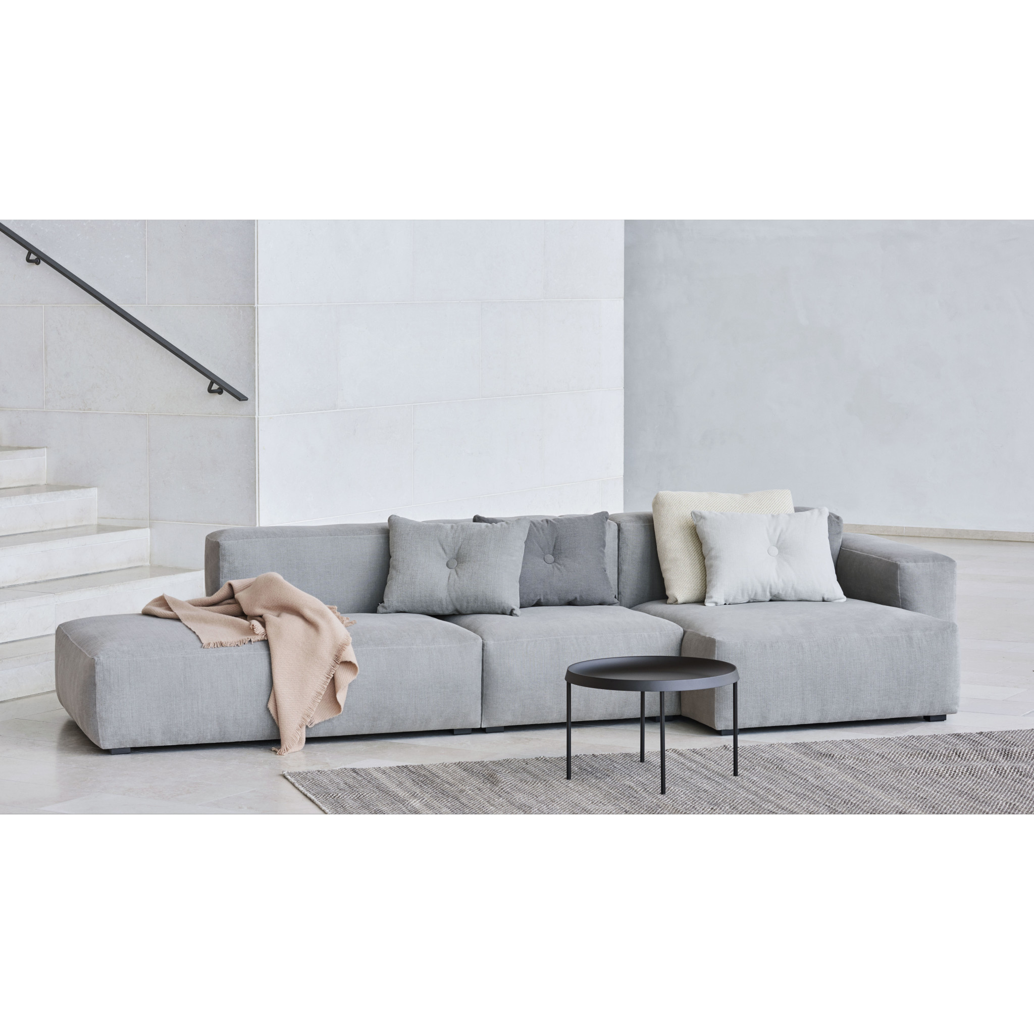 HAY MAGS soft low armrest 3 seater - combination 3