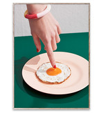 Paper Collective Fried Egg Affiche 30x40 - Paper Collective