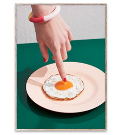 Paper Collective Fried Egg Poster