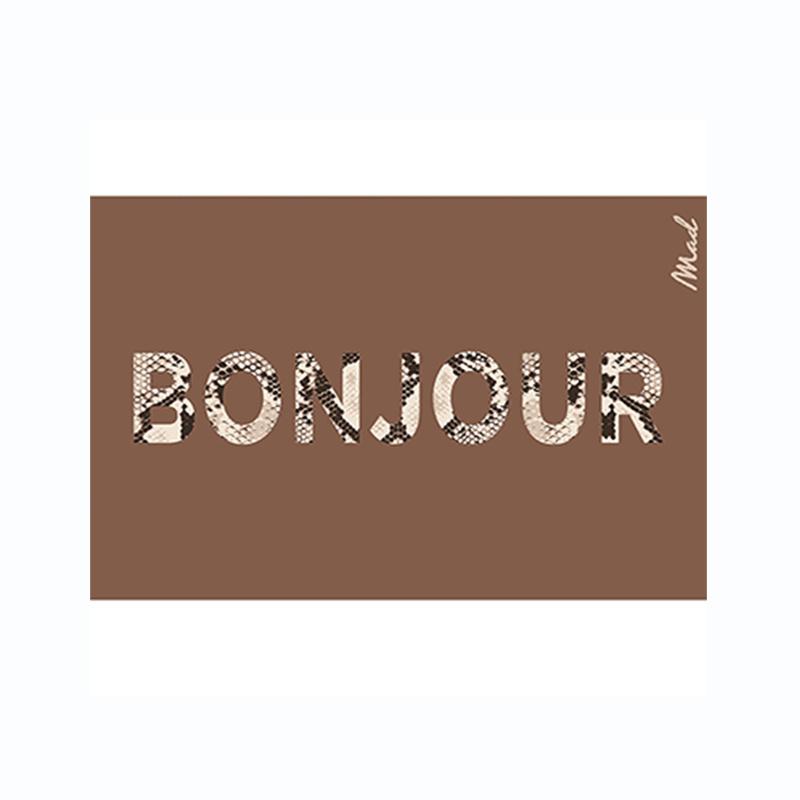 Mad About Mats Harde mat Jax - Bonjour 50 x 75 scraper