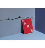 The Line Parijs Skyline Wanddecoratie - The Line