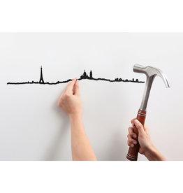 The Line Parijs Skyline Décoration Murale