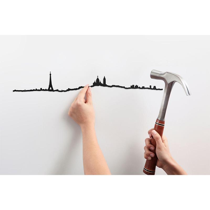 The Line Paris Skyline Décoration Murale - The Line