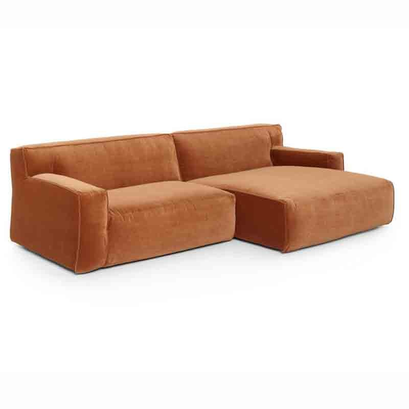 Fest Amsterdam Clay 1 seater met longchair small right