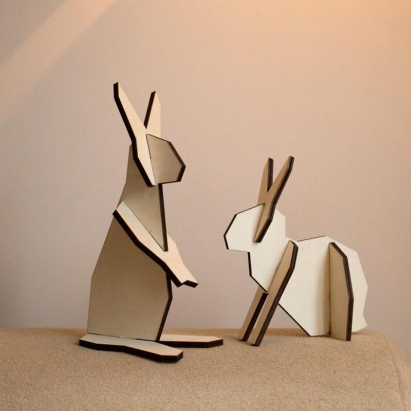 Atelier Pierre noRdic koppel Konijntjes