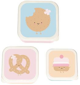 Lillemor koekendoosjes - Lunchbox trio