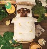 SNURK beddengoed Banana dekbedovertrek
