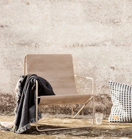Fermliving Desert Lounge Chair - Cashmere / Sand
