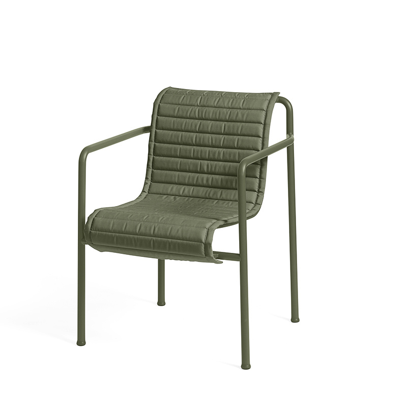 HAY Palissade dining armchair quilted cushion HAY