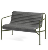 HAY Palissade dining bench quilted cushion HAY