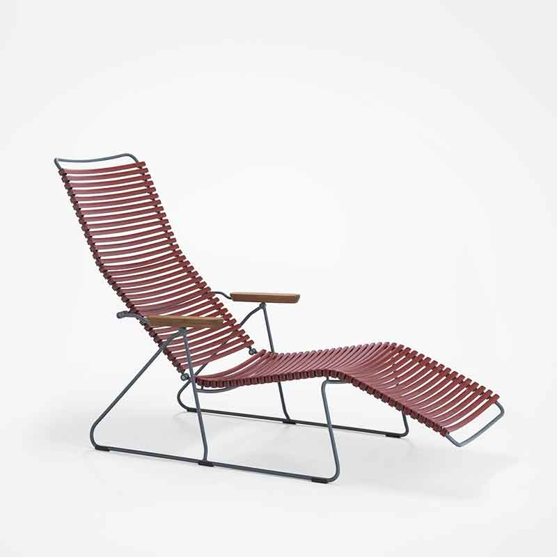 Houe Click Sunlounger Chaise Longue - Houe