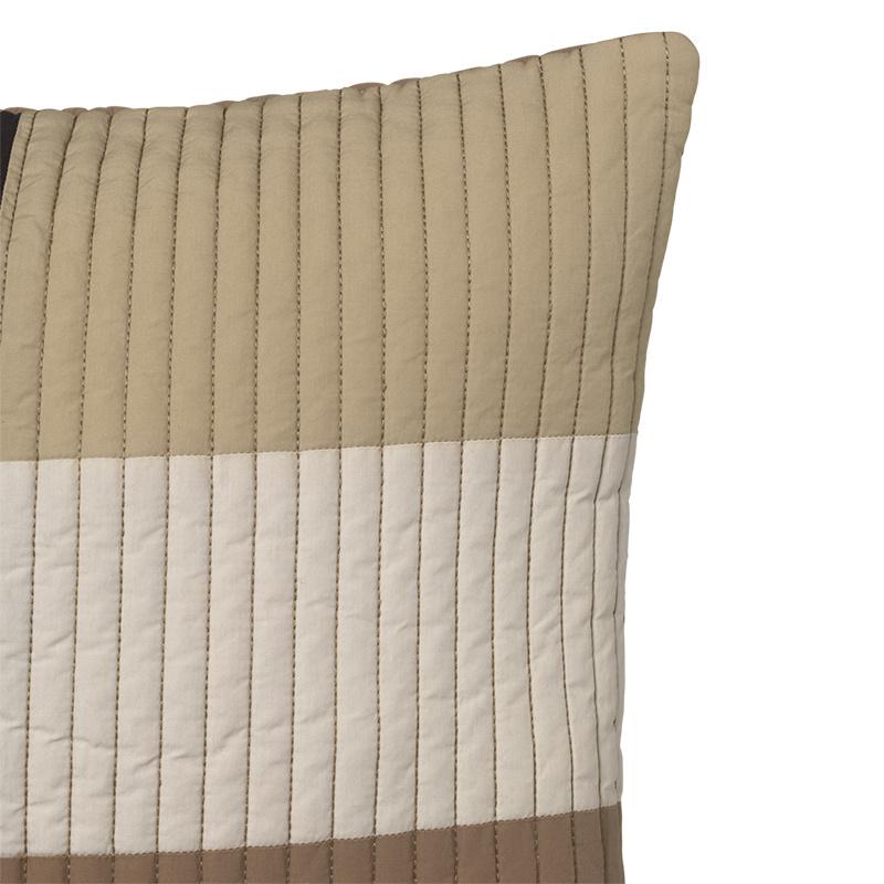Fermliving Shay quilt cushion 60 x 40 desert Fermliving