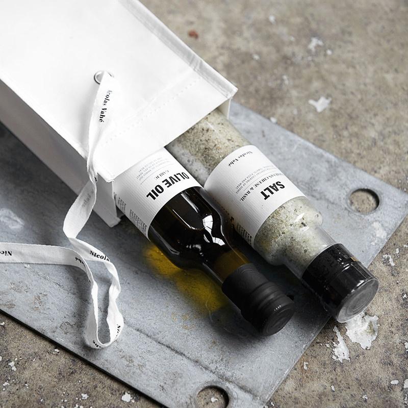 Nicolas Vahé Giftbox: Salt & Oil Nicolas Vahé