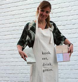 Zusss Set de Shorts de Cuisine- Serviettes de table  Shorts de Cuisine & Souhaits de table