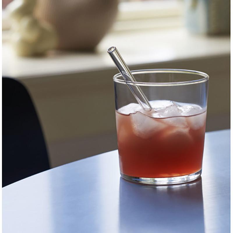 HAY Sip cocktail pailles en verre - lot de 6 - Hay