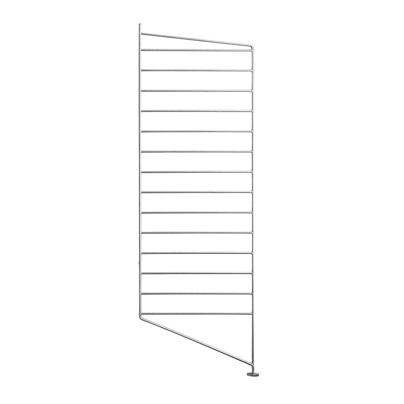 String Montant au sol simple galvanisé 30 x 85 cm