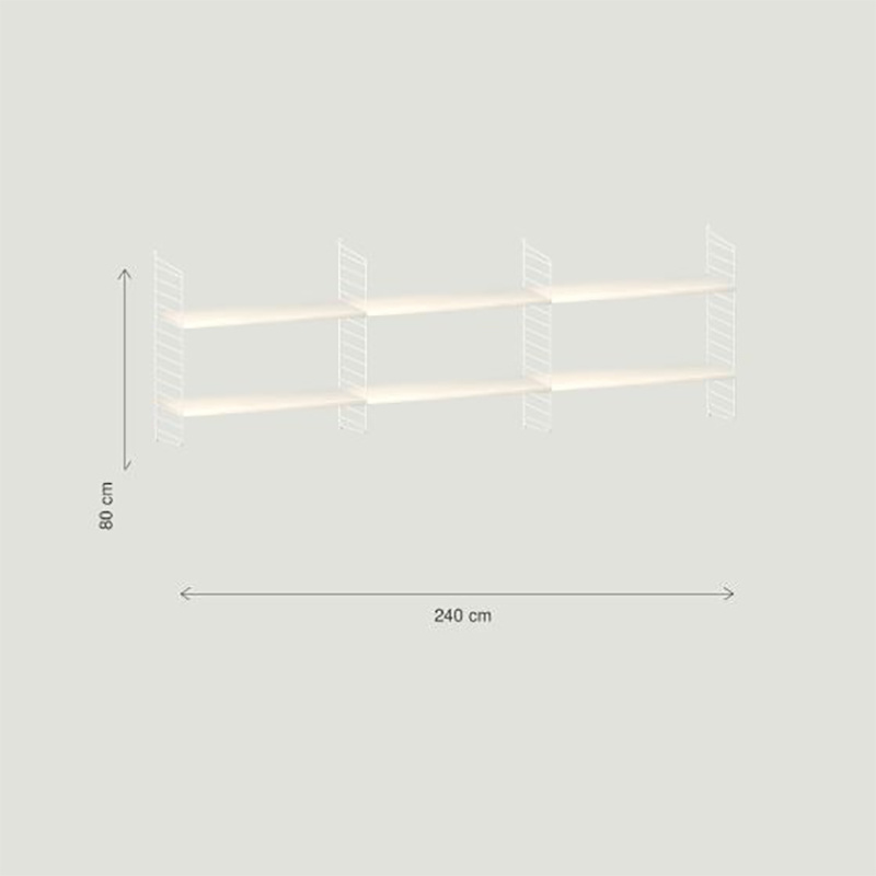 String Wandconfiguratie 9 - String