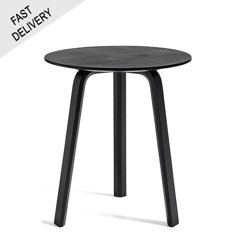 HAY Bella table basse  chêne teinté noir FAST TRACK