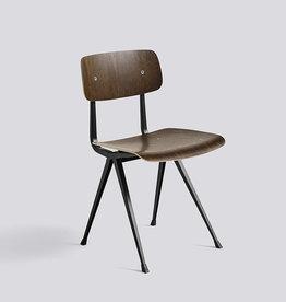 HAY HAY Result Chair - Smoaked met zwart onderstel
