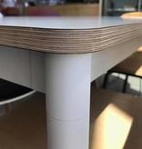 Muuto Muuto Base Tafel wit laminaat/multiplex - 140x80