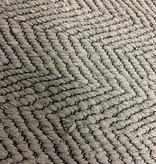 Rug Solid Rug Solid tapijt katoen - donker grijs