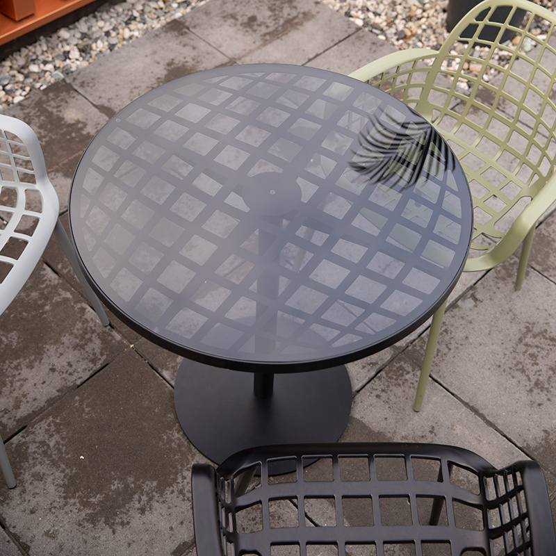 Zuiver Zuiver albert garden bistro tafel - zwart