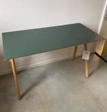 HAY CPH90 desk - groen linolium