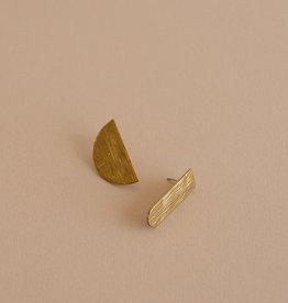 Sticky lemon Boucles d'oreilles - Golden reflections