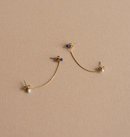 Sticky lemon Boucles d'oreilles - Blue skies